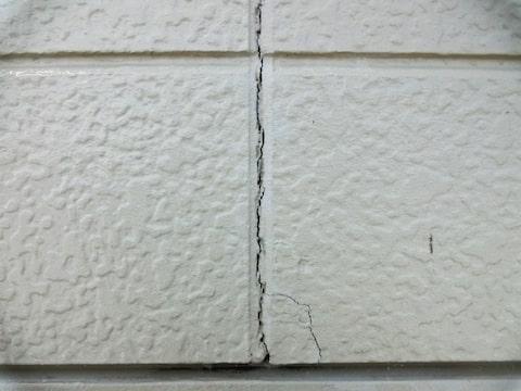 外壁の劣化画像