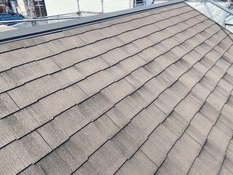 スレート屋根の画像